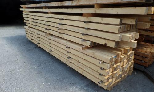 Fichtenkantholz